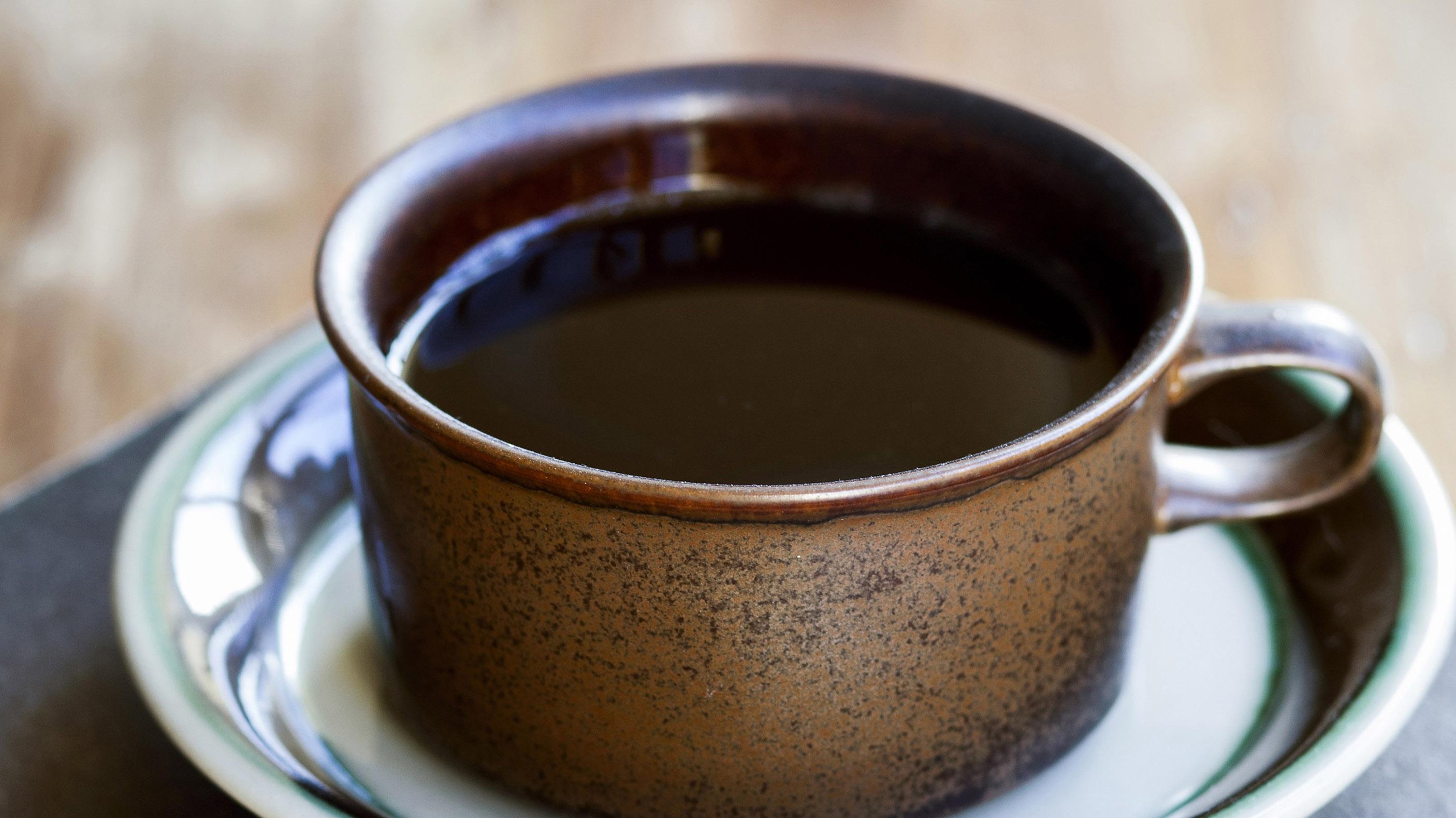 Kaffekopp i keramik